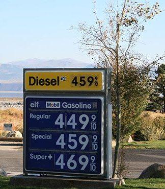 Benzinpreise in den USA (Westküste)